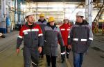 С производством АО «Трубодеталь» ознакомились представители горно-металлургического профсоюза России