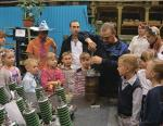 Корпорация «Сплав» провела экскурсию для первоклассников показав производство и работу их родителей