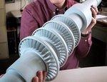 GE напечатала прототип настольной турбины мощностью до 500 МВт