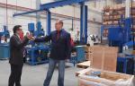 Контроль качества трубопроводной арматуры на испанском производстве JC VALVES