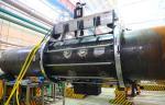 На «Петрозаводскмаше» работает новый мобильный станок для обработки трубных узлов ГЦТ