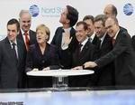 В торжественной обстановке запущен газопровод Nord Stream!