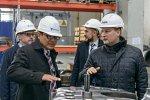 Индустриальный парк «Станкомаш» посетили представители компании Hitachi