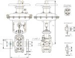 Старооскольский арматурный завод освоил выпуск регулирующих двухседельных клапанов на рабочее давление 6,3 МПа (25с(лс/нж)998 нж; 25с(лс/нж)48нж, 25с(лс/нж)50нж)
