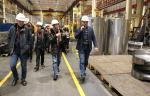 В рамках выездного семинара компании «Газпром корпоративный институт» прошла экскурсия по Невскому заводу
