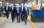 Челябинский кузнечно-прессовый завод посетил губернатор региона