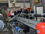 Губернтор Алексей Кокорин оценил работу нового центра испытаний, сертификации и стандартизации трубопроводной арматуры
