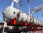 Волгограднефтемаш отгрузил последнюю из шести крупногабаритных колонн для Омского НПЗ