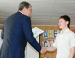 «Гусар» вручил именные стипендии лучшим студентам Гусь-Хрустального технологического техникума