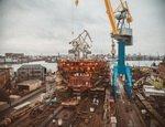 Новый атомный ледокол (проект 22220) готовят к спуску на воду на Балтийском заводе в Петербурге уже в мае этого года