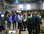 РТМТ принимает участников форума Рабочая молодежь
