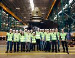 Комплекс тихоходных турбин Силовых машин посетили победители общенационального конкурса «Сила будущего»