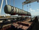 Крупногабаритное оборудование производства ОАО Волгограднефтемаш отправилось в Омск