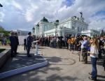 В текущем году «Газпром» откроет первые АГНКС в Омской области