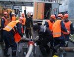 ОАО «МОЭК» провело тренировку персонала по ликвидации повреждения на тепловых сетях
