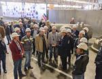 Сталелитейный завод «БВК» посетили участники съезда литейщиков