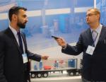 «ПКТБА». Интервью с директором по развитию продаж А. Гориным в рамках ПМГФ-2017. Мобильная версия для освидетельствования баллонов на базе контейнера с тягачом