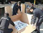 Корейские таможенники провели рейд по контрафактной Китайской арматуре