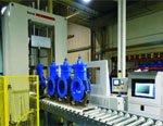 PC Progetti выпустила на рынок автоматизированную линию для сборки и испытаний трубопроводной арматуры BO-CV/40SA
