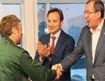 Гусевский арматурный завод «Гусар» с официальным визитом посетил депутат Государственной думы РФ Игорь Игошин