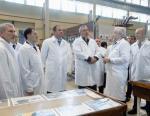Воронежский механический завод посетило руководство военно-космической отрасли