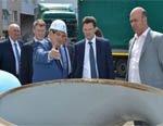 Производство труб для арктических условий на Лискимонтажконструкции с ожидаемой годовой выручкой 20 млрд рублей откроется в ноябре 2016 г.