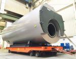 Viessmann поставил паровой котел длинной в десять метров, весом 45 тонн и мощностью 30 т/ч для Голландских партнеров