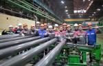 На «Выксунском металлургическом заводе» успешно испытан новый трубоэлектросварочный стан