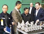 Производственную площадку МК «Сплав» посетил Цзян Байвэнь - Начальник отдела по надзору за изготовлением оборудования в Европе JNPC (Цзянсусская Ядерная Энергетическая Корпорация)