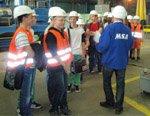 Завод трубопроводной арматуры MSA посетили школьники из Глучина