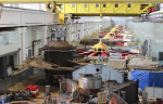 На Воткинской ГЭС завершен демонтаж гидроагрегата №5