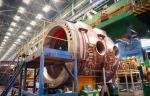 Специалисты «Атоммаша» выполняют сварку верхнего полукорпуса реактора для АЭС «Руппур»