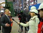 Филиал компании «АЭМ-технологии» посетили журналисты федеральных СМИ
