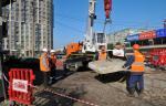 Произведена замена запорной арматуры на магистральном трубопроводе в Выборгском районе