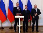 «Адмиралтейским верфям» вручена премия Правительства РФ в области качества
